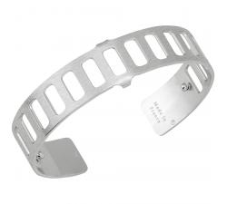 Bracelet Plaqué argent satiné 14 mm Les Georgettes FOR MEN - Rythme 703180316F2000