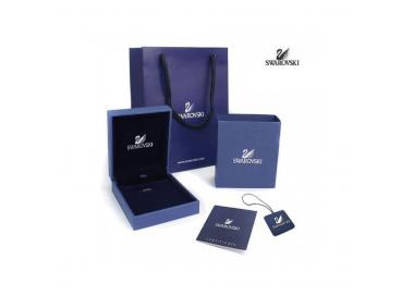 Bague Lemon Knot, bleu, combinaison de métaux plaqués SWAROVSKI 5372617
