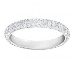 Bague Stone Mini, blanc, métal rhodié SWAROVSKI 5402437