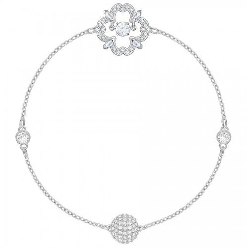 Swarovski Remix Collection Sparkling Dance Flower, blanc, Plaqué rhodium SWAROVSKI 5396228
