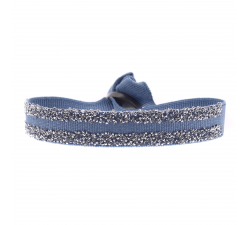 BRACELET DOUBLE FABRIC 9 Les interchangeables Bleu jean 2 A48996