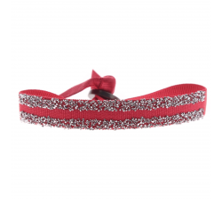 BRACELET DOUBLE FABRIC 9 Les interchangeables Framboise A48999
