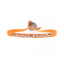 Bracelet PERLE 4 mm Les interchangeables Orange 2 A49971