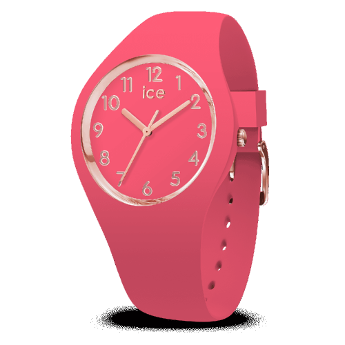 Montre ICE Glam Colour - Raspberry - SMALL 34 MM 015331