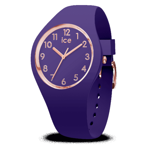 Montre ICE Glam Colour - Ultra violet - SMALL 34 MM 015695