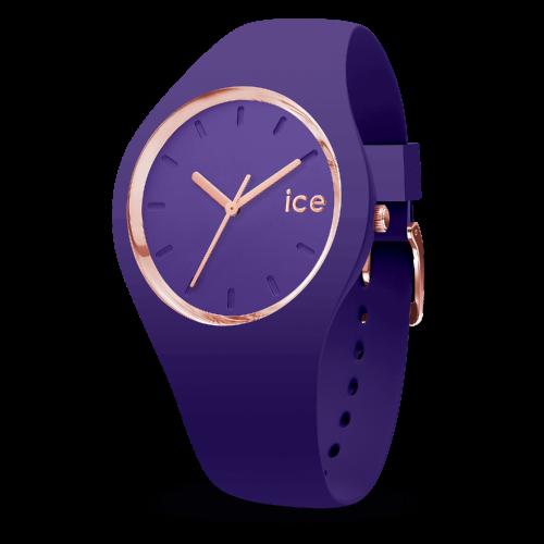 Montre ICE Glam Colour - Ultra violet - MEDIUM 40 MM 015696