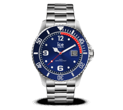 Montre ICE WATCH ICE STEEL - BLUE SILVER - MEDIUM 40 MM 015771
