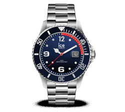 Montre ICE WATCH ICE STEEL - MARINE SILVER - LARGE 44 MM 015775