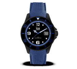 Montre ICE WATCH ICE STEEL - BLACK BLUE - LARGE 44 MM 015783
