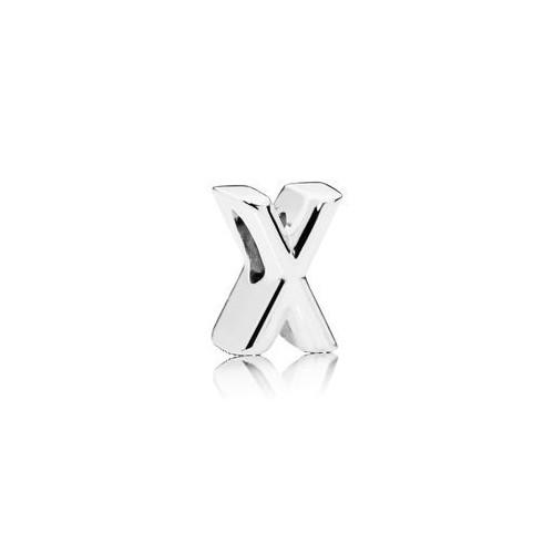 Charm Lettre X Argent 925/1000 Pandora 797478