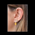 Boucles d'oreilles en finition argent LES CUMULABLES 70322461600000