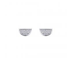 Boucles d'oreilles en finition argent LES CUMULABLES 70322471608000