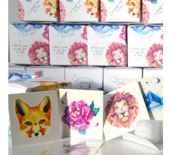 Tattoo LOVELY SIOOU La super tattoo Box BOXANGULAR