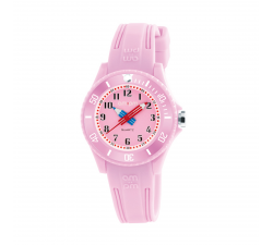 Montre AM:PM rose éducative PM192-K513