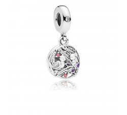 Charm pendentif Always by your Side Argent 925/1000 Pandora 797671CZRMX