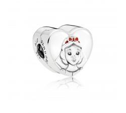 Clip Disney, Portrait de Blanche-Neige Argent 925/1000 Pandora 797165ENMX