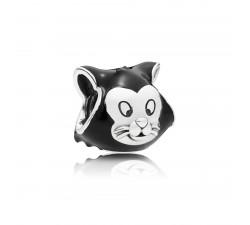 Charm Disney, Portrait de Figaro Argent 925/1000 Pandora 797488EN16