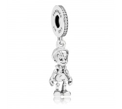 Charm pendentif Disney, Pinocchio Argent 925/1000 Pandora 797489CZ