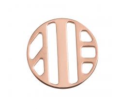 Jeton Les Clipsables Les Georgettes - Ruban doré rose - 16 mm 70320904100000