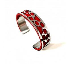 Bracelet acier manchette 15 mm ODA DREAMS Yé-Yé