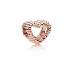 Charm Cœur Perlé Pandora Rose 787516