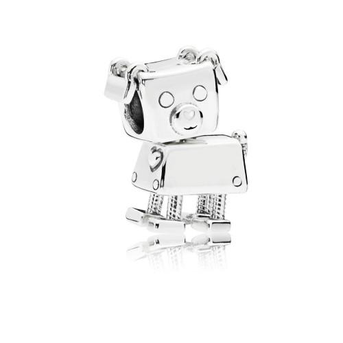 Nouveau Charm d'Amitié: Bobby Bot, Argent 925/1000 Pandora 797551EN12