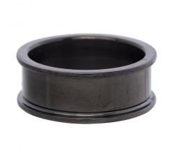 Anneau de Base 8 mm - Noir Taille 16 R0170116005
