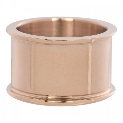 Anneau de Base 12 mm - Or rose Taille 17 R0180117002