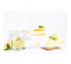 Bougie Lemon cream pie (Boucles d'oreilles) Jewel Candle 201223FR
