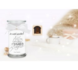 Bougie Cozy Fireplace (Boucles d'oreilles) Jewel Candle 201267FR