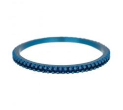 Bague Caviar IXXXI 2 mm - Bleu