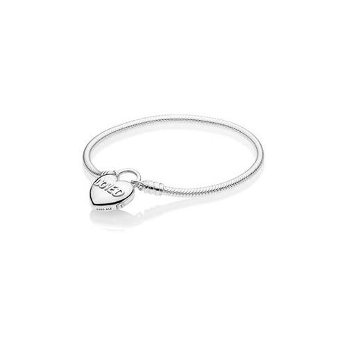 Bracelet Moments Cadenas Aimée en argent 925/1000 Pandora - 597806