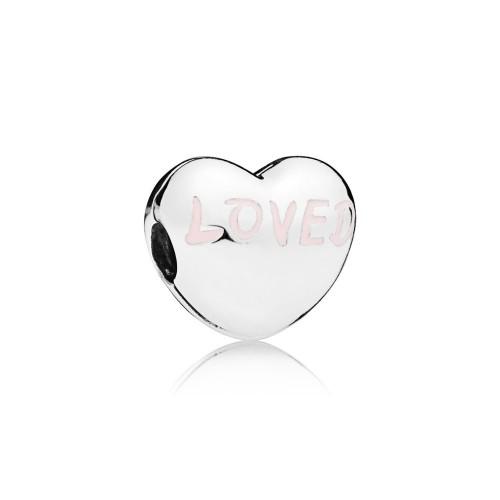 Clip cœur Aimée en Argent 925/1000 Pandora 797807EN124