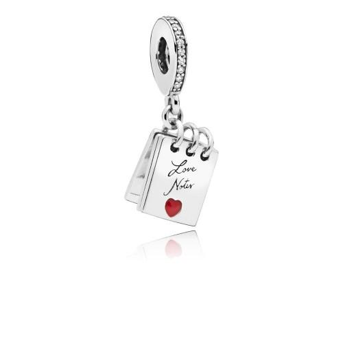 Charm pendentif Mots d'Amour, Argent 925/1000 Pandora 797835CZ