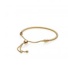 Bracelet Coulissant Moments en PANDORA Shine** 567110CZ-2
