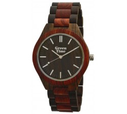 Montre bois de santal homme GREENTIME ZW021H