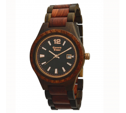 Montre bois de santal homme GREENTIME ZW074B