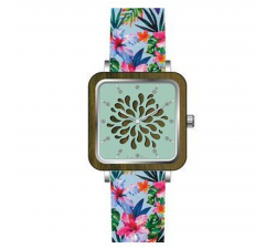 Montre bois de santal femme GREENTIME ZW087D