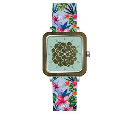 Montre bois de santal femme GREENTIME ZW087H