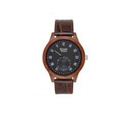 Montre bois de santal homme GREENTIME ZW096C