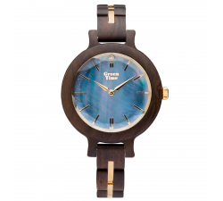 Montre bois de santal femme GREENTIME ZW105C