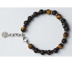 Bracelet bois de wengé GREENTIME ZWB219B