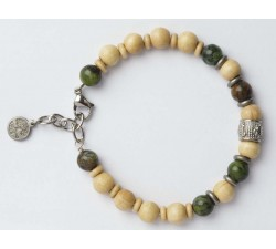 Bracelet bois de charme GREENTIME ZWB219E