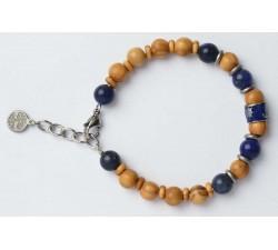 Bracelet bois d'olivier GREENTIME ZWB219G
