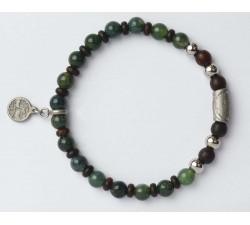 Bracelet bois de wengé GREENTIME ZWB221D