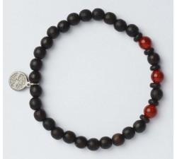 Bracelet bois de wengé GREENTIME ZWB222B