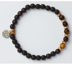 Bracelet bois de wengé GREENTIME ZWB222D