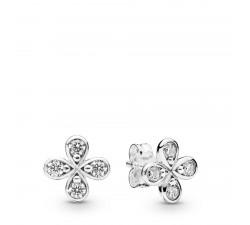 Boucles d'oreilles Fleurs à Quatre Pétales en Argent 925/1000e PANDORA 297968CZ