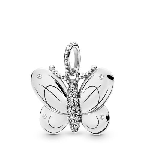 Pendentif Papillon en Argent 925/1000 Pandora 397933CZ