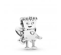 Charm Bella Bot Florale en Argent 925/1000 Pandora 797856